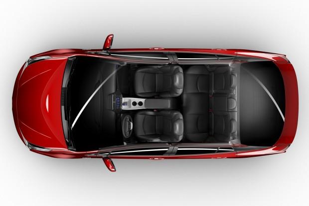 Az új Prius, tető nélkül