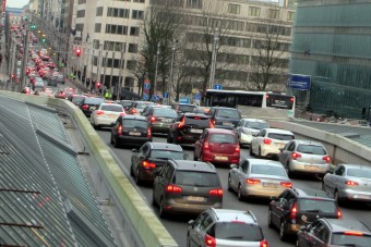 Egerek okoznak közlekedési káoszt Brüsszelben