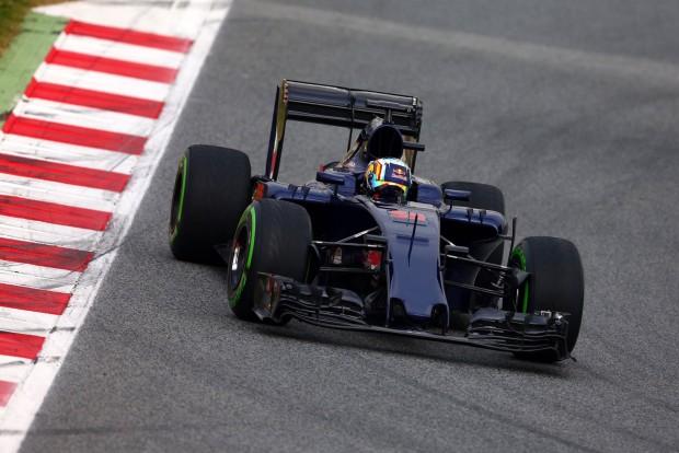 Még a Red Bull felirat is hiányzik a Toro Rossóról
