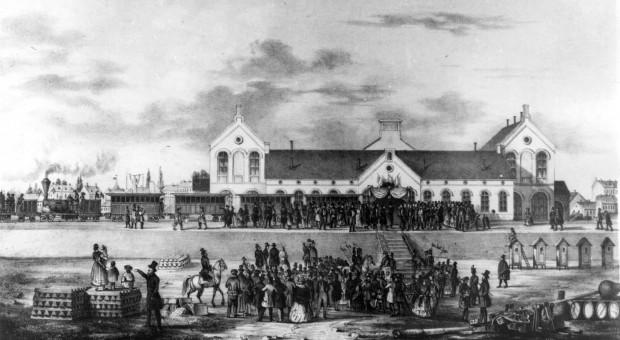 A Pest-Vác vasút megnyitóünnepsége 1846-ban
