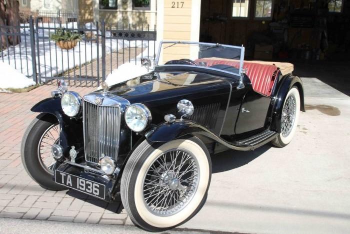 Kicsit olcsóbb az Auburnnél az MG TA. Már 40 000 fontért, azaz körülbelül 16 millió forintért akad belőle szép példány