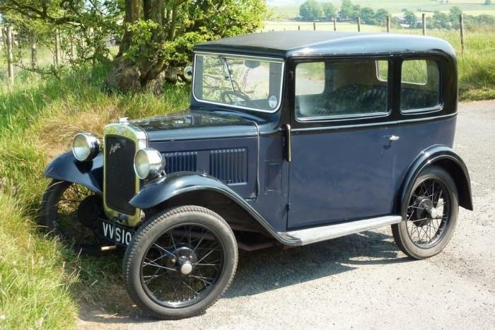 Az MG árának ötödéért, azaz mintegy 8000 fontért (kb. 3,2 millió Ft) hozzá lehet jutni egy jó állapotú Austin Sevenhez