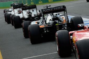 Hülyét csinált magából az F1: marad a kieséses időmérő
