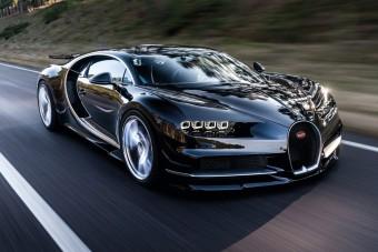 Szédítő részletek az új Bugattiról