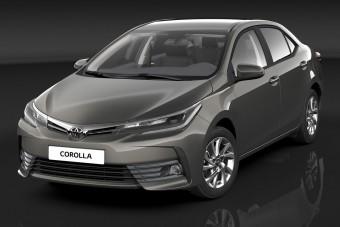 Pofásabb, biztonságosabb a Toyota Corolla