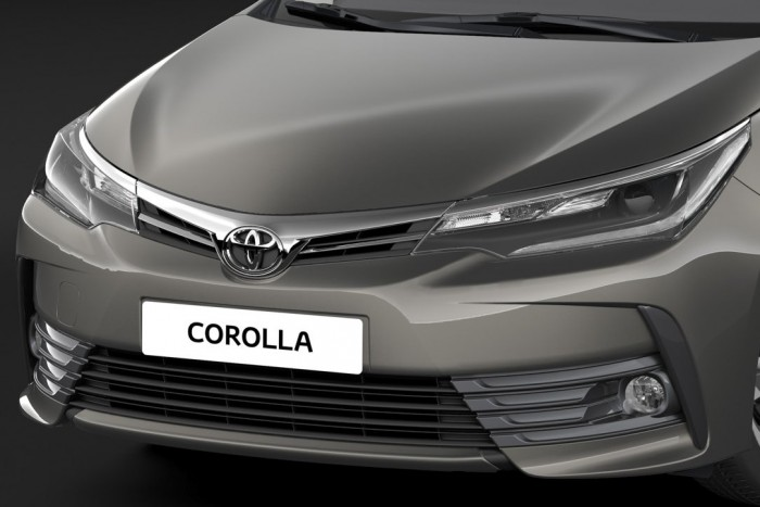 Pofásabb, biztonságosabb a Toyota Corolla 1
