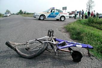 Elütötte a biciklist és elhajtott, majd jelentkezett a rendőrségen