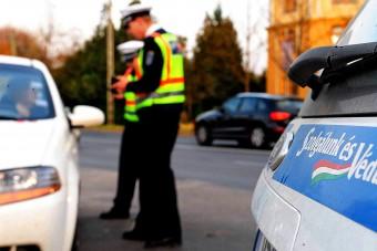 Húsvéti razziát indít a rendőrség a hazai utakon