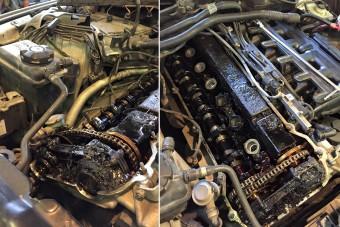 100 ezret ment a BMW olajcsere nélkül, fotókon a motor