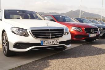 Mercedes E-osztály: újra a csúcson