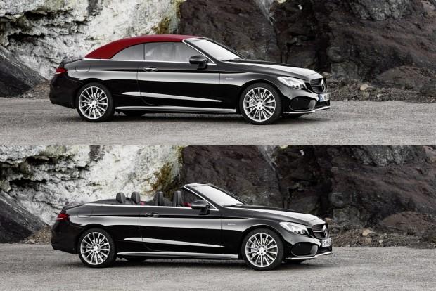 Mercedes-Benz C-osztály Cabriolet1