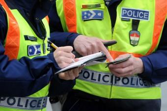 Fokozott rendőri ellenőrzés a Balatonnál
