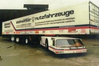 A valaha készült legfurcsább kamion, ami senkinek nem kellett