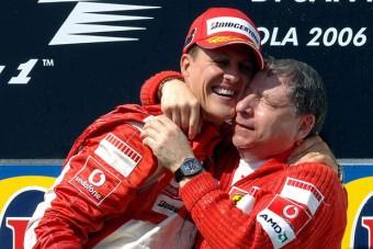 F1: Rendszeresen látogatja Schumit a volt főnök