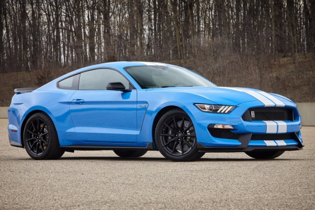 2017 Ford Shelby GT350 in Grabber Blue