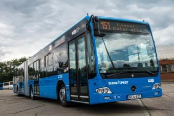 Új buszokat kapott Budapest