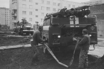 Így próbálták lemosni a radioaktív szennyeződést Csernobilban