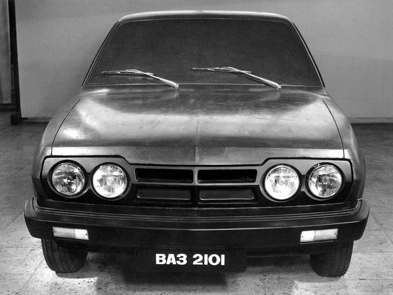 VAZ 2101-80 Egy erős koncepció a Zsiguli felfrissítésére. Sajnos kútba esett, pedig a kor színvonalán merész, divatos terv volt.