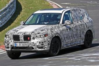 Végre jöhet a BMW X3 M?