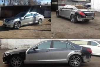 Így lesz Ukrajnában régi Mercedesből zsír új