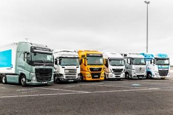 Ezzel a megoldással kevesebbet kéne körmölniük a kamionsofőröknek