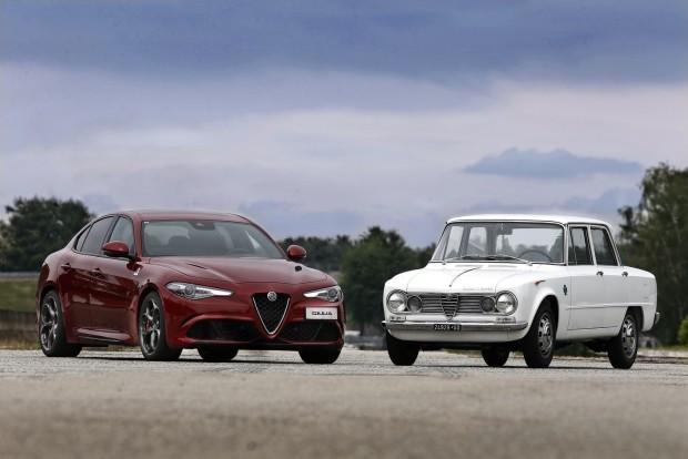 Giuliák egymás közt. Balra az új, jobbra a régi. Az 1962-től gyártott modell legendássá vált. Úgy is, mint Piedone felügyelő autója