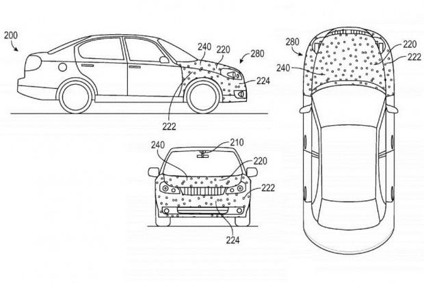 Légypapír a Google autóján