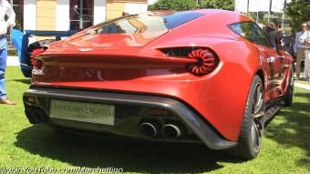Az Aston Martin Vanquish Zagato dögös formájánál csak hangja csábítóbb