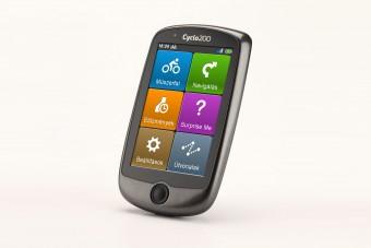 Versenyképes biciklis GPS