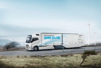 Kevésbé falja a gázolajat a Volvo tanulmánya