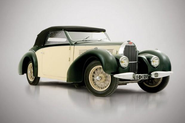 1939 Bugatti Type 57 Cabriolet: €660.800