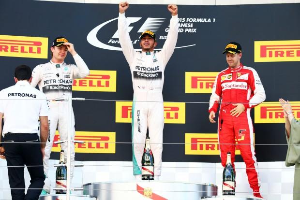 Lewis Hamilton volt az első brit pilóta, aki meg tudta védeni bajnoki címét