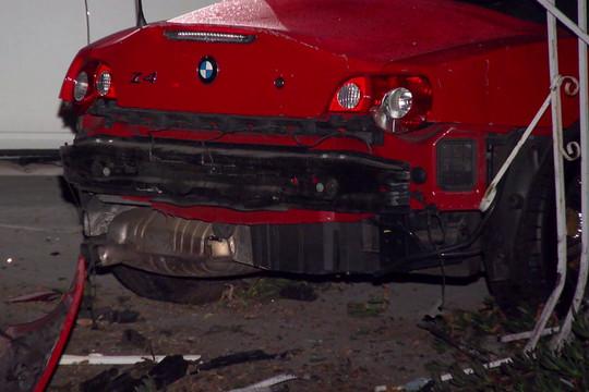 Ford Mustang pusztított