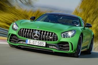 Mercedes AMG GT R: versenyautó civileknek