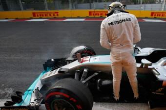 F1: Hamilton gumit cserél a rajtra
