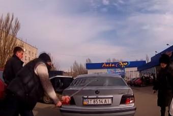Így verte szét saját autóját a BMW-s család