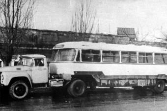 Tíz nem éppen hétköznapi busz a Szovjetunióból