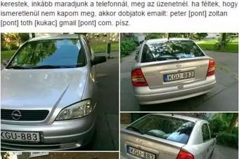 Vegyétek már meg anyám autóját!