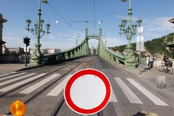 Gyalogosoké lesz a Szabadság híd