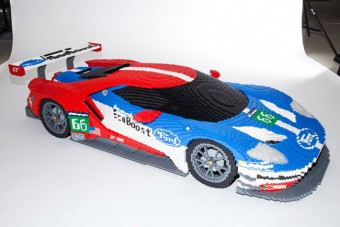 Ford GT-t építettek Legóból