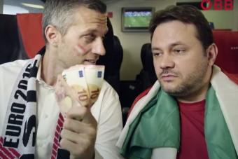 Az osztrákok reklámot csináltak a magyar győzelemből