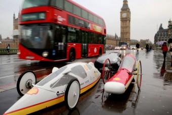 Londonba vitték a legtakarékosabb magyar autókat