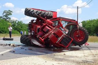 Megrázó fotók a Mélykúton történt balesetről