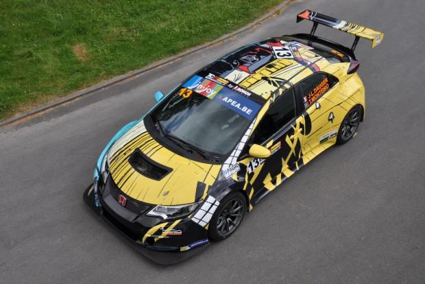 The Honda Art Car Jean Graton