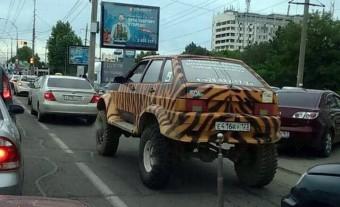 22 kép képtelen guruló szörnyekről Oroszországból