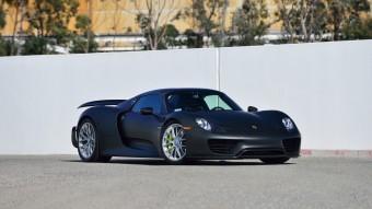 Borzasztóan sokat ér ez a 2 kilóval könnyebb 918-as Porsche