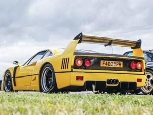 A mai lélektelenül rotyogó turbómotorok örök ellenpontja a Ferrari F40