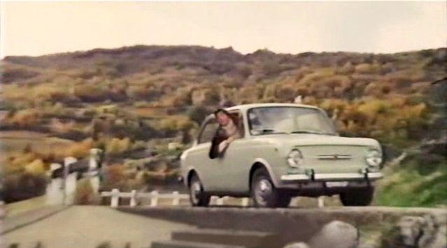 A Fiat 850-es egyetlen főszerephez az Alfredo, Alfredo című 1972-es olasz filmben jutott. A címszereplőt a szinte tinédzser Dustin Hoffmann alakította, szerelmét az azóta kissé elfelejtett, de akkor gyönyörű Stefania Sandrelli