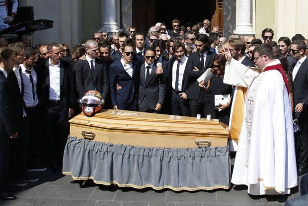 2015. július 21-én vettek végső búcsút Bianchitól