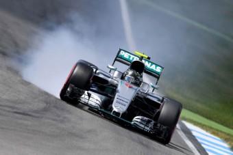 F1: Rosberg behúzta a pole-t otthon